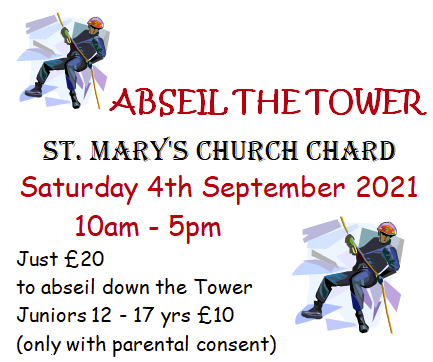 Abseil the tower at St Marys